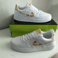"""Nike Air Force 1"" Men Sport Casual Fashion Multicolor Low Help Plate Shoes Sneakers"