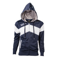 Assassin's Creed ® Unity - Official Blue/White Embroidered Zip Up Hoodie