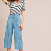 M.i.h Caron High-Rise Cropped Wide-Leg Pants