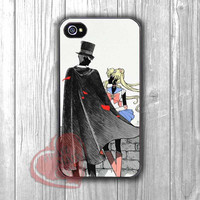 Sailor Moon and Tuxedo Mask -nnd for iPhone 4/4S/5/5S/5C/6/ 6+,samsung S3/S4/S5,samsung note 3/4