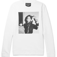 Raf Simons - + Robert Mapplethorpe Foundation Printed Loopback Cotton-Jersey Sweatshirt