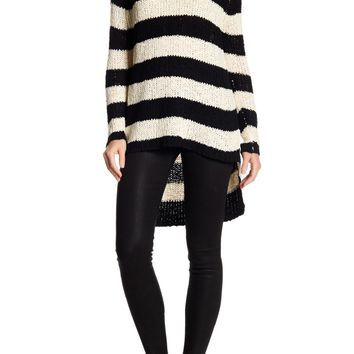 Kersh & Press | V-Neck Striped Sweater | Nordstrom Rack