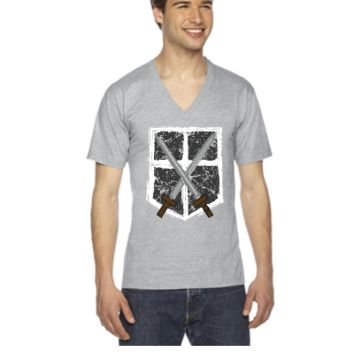 Attack On Titan - V-Neck T-shirt