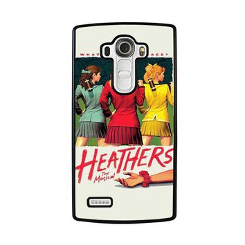heathers broadway musical lg g4 case cover  number 1