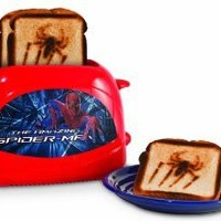 "Spiderman Toaster ""Amazon Spiderman"" Design"