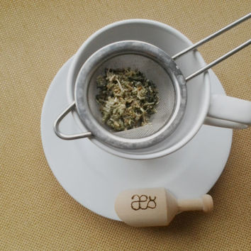 Artemisia: Absinthe Green Tea. Loose Herbal Tea with Fennel, Anise, Wormwood, Mugwort, Clove and Green Tea