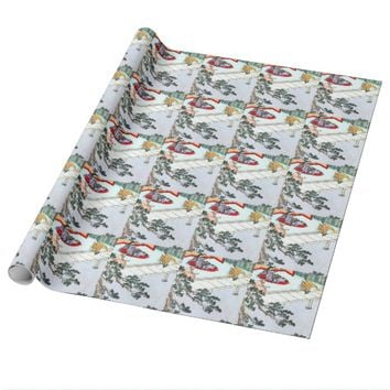 Asian Princess Wrapping Paper