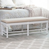 Belham Living Cottage Spindle Bench | www.hayneedle.com