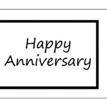 Wrought Iron Haven Greeting Card - Anniversary