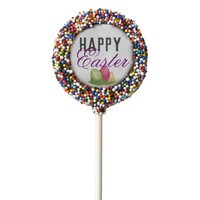 Happy Easter Cookie Pops, Confetti Sprinkles