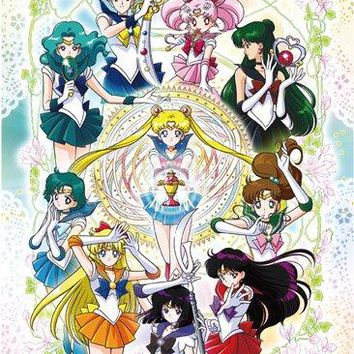 High End Wall Scroll - Sailor Moon S - Group Anime Art Licensed ge81345