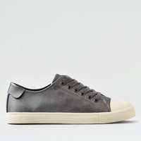 AEO Metallic Low Top Sneaker , Dark Graphite