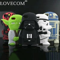 Star Wars Soft Silicon Cases For iPhone 4 5 6 6 plus