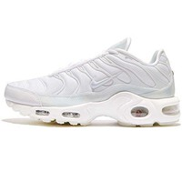 Nike Women's Wmns Air Max Plus SE, WHITE/PURE PLATINUM-ICE womens nike air max