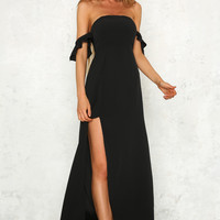 Find Your Love Maxi Dress Black