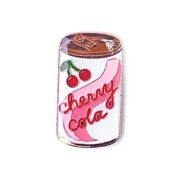 Cherry Cola Can Pin