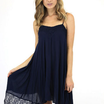 Filipa Farther Shores Dress in Navy