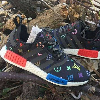 ONETOW Louis Vuitton x Adidas NMD R_1 Boost Shoe