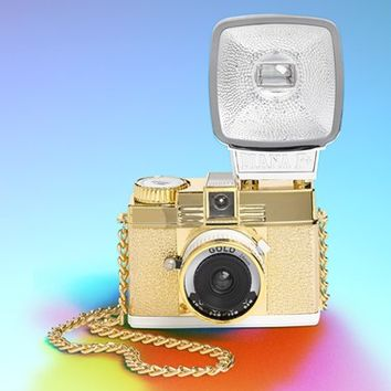 Lomography 'Diana F+ Mini - Gold Edition' Film Camera