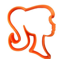 Barbie Silhouette Cookie Cutter