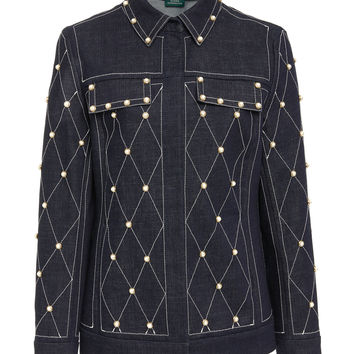 Studded Denim Jacket | Moda Operandi