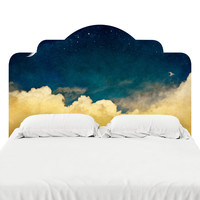 One For The Dreamers Headboard Decal