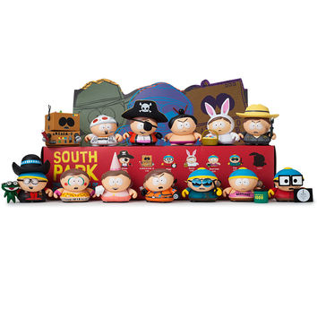 South Park The Many Faces of Cartman Blind Box by Kidrobot