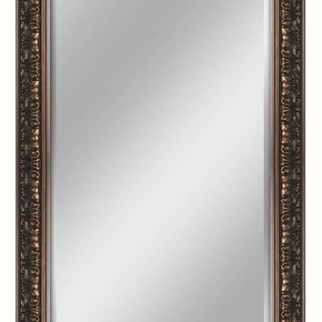 Ornate Bronze Leaner Mirror (8932) - Illuminada