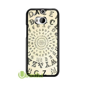 Vintage Metal Typefaces Typography F  Phone Cases for iPhone 4/4s, 5/5s, 5c, 6, 6 plus, Samsung Galaxy S3, S4, S5, S6, iPod 4, 5, HTC One M7, HTC One M8, HTC One X