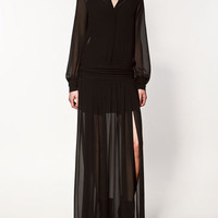 SHIRT DRESS WITH SASH BELT - Collection - Dresses - Collection - Woman - ZARA United States