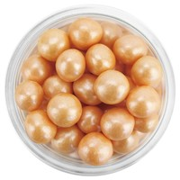 Pearly Copper Sugar Pearls 6MM