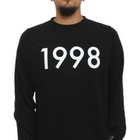 Diamond Supply, 1998 Crewneck - Black - Sweatshirts / Hoodies - MOOSE Limited