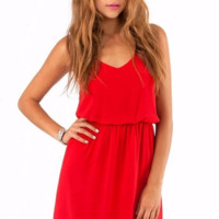 Cute Chiffon Summer Beach Dress