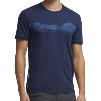 Icebreaker Tech Lite Valley Crew - Short-Sleeve - Men's