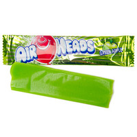 AirHeads Taffy Candy Bars - Green Apple: 36-Piece Box