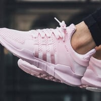 "Women ""Adidas"" Equipment EQT Support ADV Pink Casual Sports Shoes"