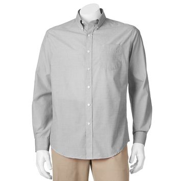 Croft & Barrow Easy-Care Button-Down Shirt - Big & Tall, Size: