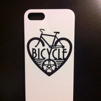 Bicycle Love iPhone 5 Case