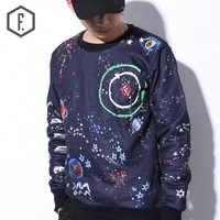 Men's Fashion Winter Pullover Long Sleeve Hoodies [8822200963]
