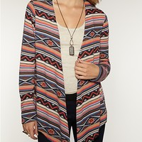 Aztec Cascading Front Cardigan | Sweaters  | rue21