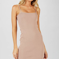 Dontelle Dress - Beige
