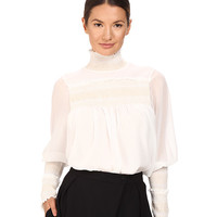See by Chloe High Neck Georgette Blouse