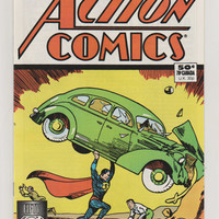 Action Comics; V1, 1.  50th Anniversary Reprint. NM.  June 1988.  DC Comics
