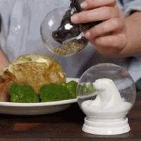 Snowglobe Salt & Pepper Set by GAMA GO