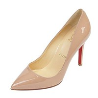 Wiberlux Christian Louboutin Women's Glossy Pointed Toe Pumps