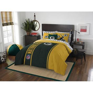 Green Bay Packers Soft & Cozy Full Size Bed in a Bag