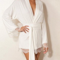 Cashmere Blend Robe by Naked Princess