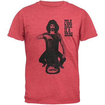 Frank Zappa - Folk Rock is a Drag Soft T-Shirt