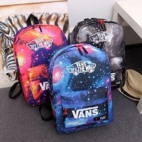 """VANS"" Trending Fashion Sport Laptop Bag Shoulder School Bag Backpack"