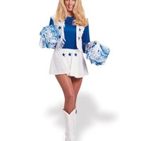 Dallas Cowboy Cheerleader Adult Womens Costume – Spirit Halloween